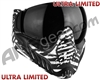 V-Force Profiler Paintball Mask - SE Zebra