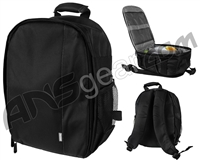 Warrior Paintball Backpack - Black/Grey