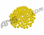 Warrior 100 Pack Re-Usable Paintballs - Yellow