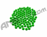 Warrior 2000 Pack Re-Usable Paintballs - Green