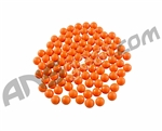 Warrior 2000 Pack Re-Usable Paintballs - Orange