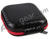 Warrior Universal Carbon Fiber Protective Case - Black/Red