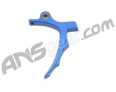 Warrior Paintball SLG Saw Rolling Trigger - Dust Blue