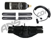 4+1 Paintball Harness & On/Off Remote, 20Oz C02 Tank