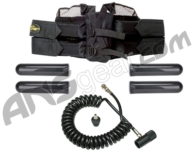 Extreme Rage 4+1 Paintball Harness & Remote Package Kit