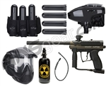 Kingman MR100 Pro Battle Gun Package Kit - Olive Green