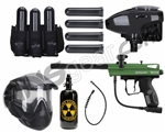 2012 Kingman Victor Battle Gun Package Kit - Forest Green