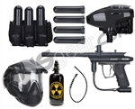 Kingman Victor E Battle Gun Package Kit - Black