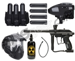 Kingman 2012 Xtra Battle Gun Package Kit - Diamond Black