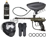 2012 Kingman Victor Intro Gun Package Kit - Olive Green