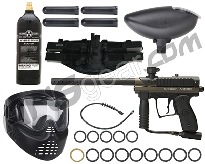 Kingman MR100 Pro Rookie Gun Package Kit - Olive Green