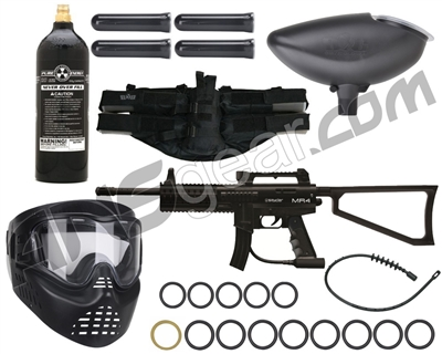 Kingman MR4 Rookie Gun Package Kit - Black