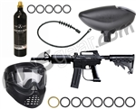 Kingman MRX Starter Gun Package Kit - Diamond Black