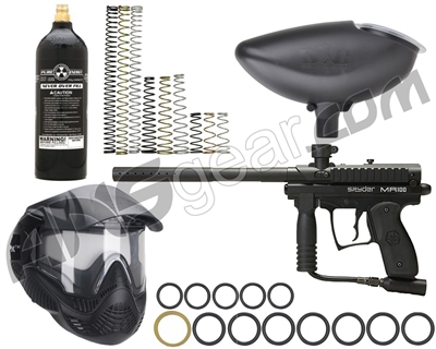 Kingman MR100 Pro Vision Gun Package Kit - Diamond Black