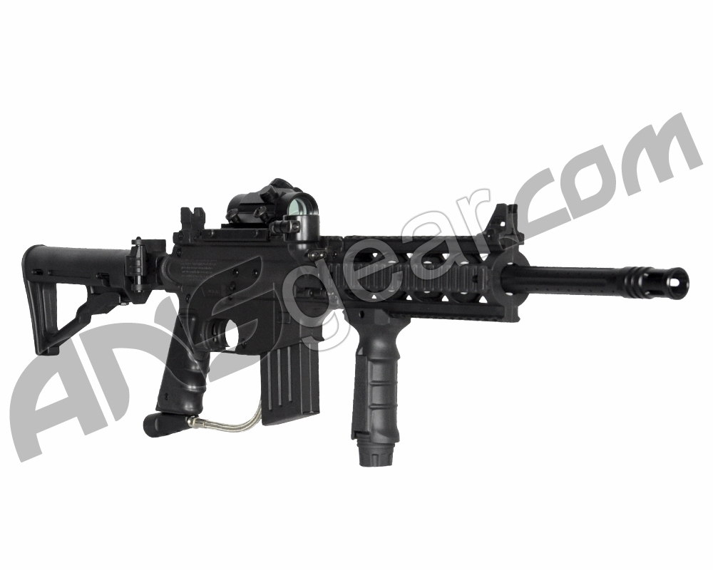 project salvo Product features tippmann us army project salvo tactical hpa red dot paintball gun package.