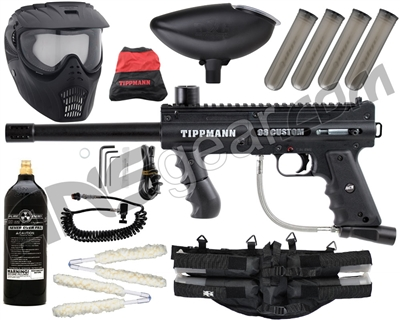 Tippmann 98 Custom ACT Platinum Series - GxG Mask, 20 Oz Tank, 4+1, Remote
