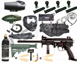 Tippmann A5 E w/ H.E. Grip, 4+1, 20 Oz Tank, GxG Mask, Remote, Stock, Flatline