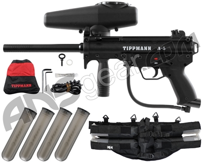 Tippmann A5 - 4+1 Paintball Harness