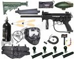 Tippmann A5 RT - 4+1, 48/3000, GxG Mask, Remote, Stock, Flatline