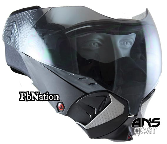 Paintball mask front