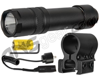 Aim Sports 200 Lumens Flashlight w/ Pressure Switch (FM200S)