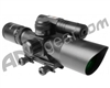 Aim Sports Titan Series 2.5-10X40mm Green Laser Rifle Scope w/ Mil-Dot Reticle (JDNG251040G-N)