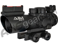Aim Sports Prismatic Recon 4X32mm Rifle Scope w/ Tri-Illumination & Circle Plex Reticle (JTCPO432G)