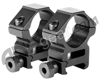"Aim Sports 1"" Weaver Rings - Medium (QW10N)"