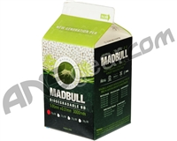 Mad Bull Biodegradable .20g Airsoft BB's - 3,000 Rounds
