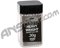 Jag Arms Heavy Weight .30g Airsoft BB's - 2,500 Rounds