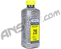 Valken Accelerate .28g Bio Airsoft BB's - 2500 - White (93412)