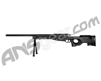 Bravo MK98 Sniper Rifle Bolt Action Airsoft Gun - Black