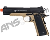 Elite Force 1911 Tac CO2 Blowback Airsoft Pistol - Black/Dark Earth (2279068)