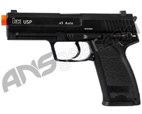 H&K USP Competition Gas Blowback Airsoft Pistol - Black