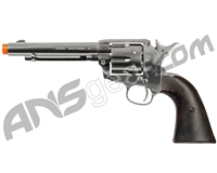 Legends Smoke Wagon CO2 Airsoft Revolver - Nickel