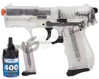 Walther P22 Spring Airsoft Pistol - Clear (2272000)