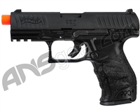 Walther PPQ Gas Blowback Airsoft Pistol - Black