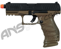 Walther PPQ Tactical Gas Blowback Airsoft Pistol - Dark Earth
