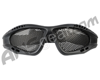 Mesh Airsoft Goggles - Black