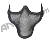 1G Strike Steel Half Airsoft Mask - Black