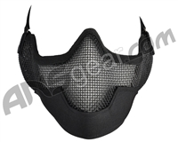 3G Strike Steel Airsoft Mask w/ Ear Protectors - Black