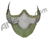 3G Strike Steel Airsoft Mask w/ Ear Protectors - Green
