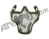 1G Strike Steel Half Airsoft Mask - Jungle Camo
