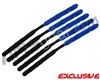 5 Pack - ANS Flex Swab Squeegees - Black/Blue