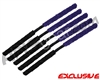 5 Pack - ANS Flex Swab Squeegees - Black/Purple