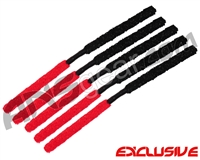 5 Pack - ANS Flex Swab Squeegees - Black/Red