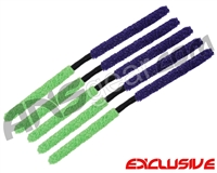 5 Pack - ANS Flex Swab Squeegees - Purple/Green