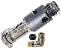 ANS Gen X2 Inline Regulator - Dust Grey