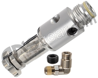 ANS Gen X2 Inline Regulator - Dust Silver
