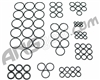 ANS Complete O-Ring Kit 3x Rebuild (Bag) - Etek 5